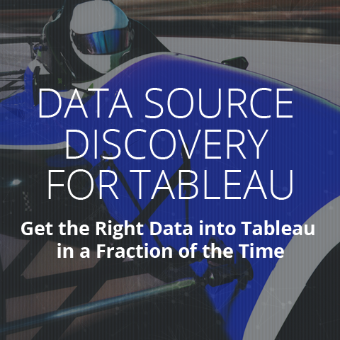 Attivio Data Source Discovery for Tableau