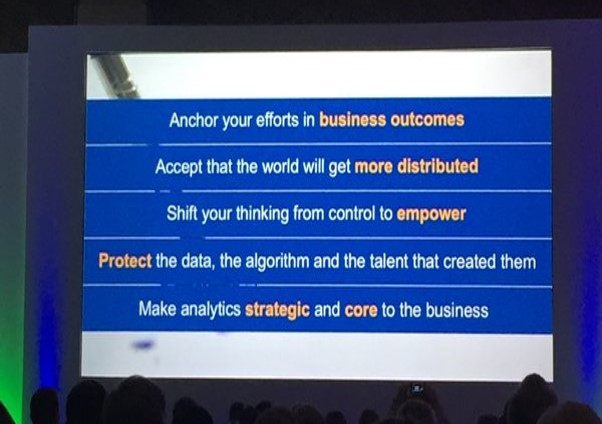 5 Takeaways from Gartner BI & Analytics Summit