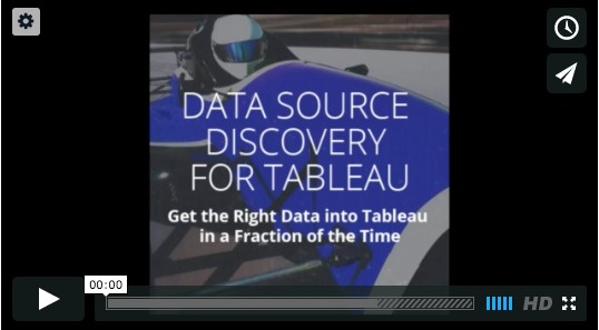 Get Your Tableau Motor Running